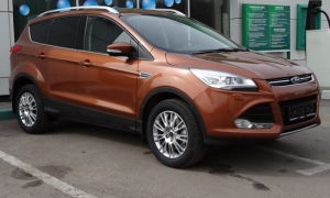 Ford Kuga: потребление топлива на 100 км.