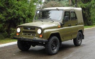 УАЗ 469: данные о расходе бензина (отзывы)
