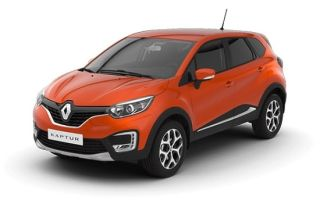 Renault Captur — расход горючего на 100 км