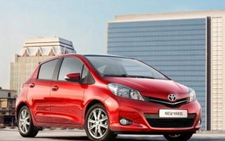 Toyota Vitz: расход горючего на 100 км