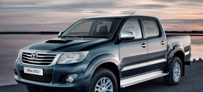 Тойота Хайлюкс – норма расхода топлива на 100 км по паспорту и по отзывам